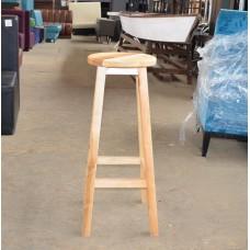 Барные стулья б/у из светлого дерева