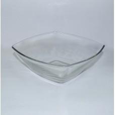 Салатник б/у стекло квадратный