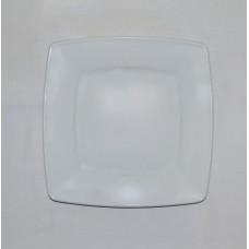 Тарілка б/в порцелянова квадратна №2