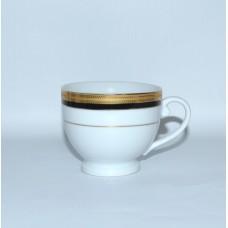 Чашка б/у с золотой каймой