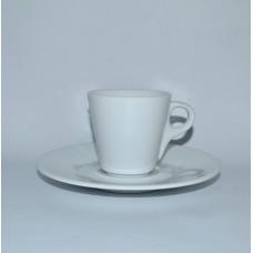 Чашка c блюдцем б/у Lubiana