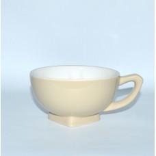 Чашка б/у бежевая