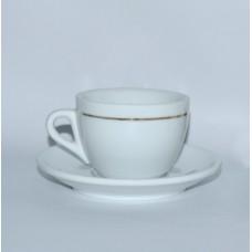 Чашка б/в капучино Coffee club