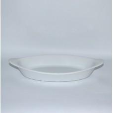 Фарфоровые тарелки б/у овальные с ручками