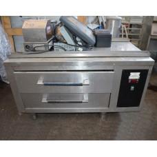 Стіл холодильний б/в підставка, 2 ящика HOLTZ & HOLTZ TGKD-1000