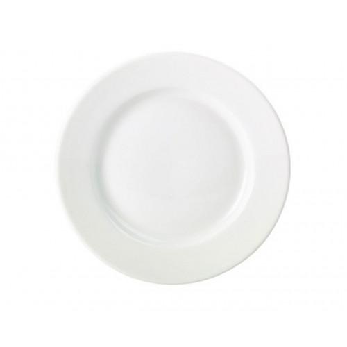 Тарелка б/у из фарфора 24 см