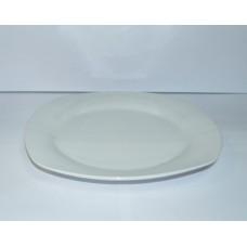 Тарелка б/у из фарфора квадрат 25/25 см
