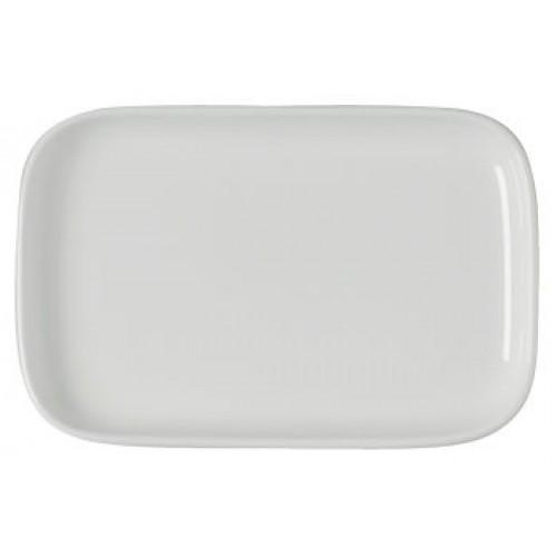 Блюдо фарфоровое б/у прямоугольное 33,5 / 29,5 см