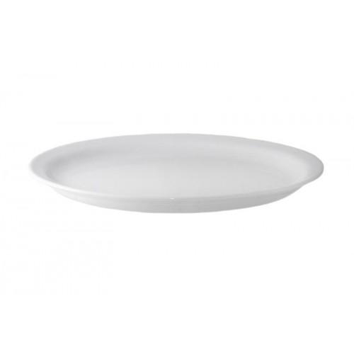 Блюдо фарфоровое б/у овальное 26 см LUBIANA