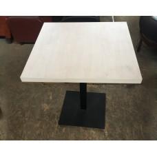 Стол б/у ДСП ламинированный на железной ноге