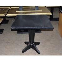 Стол деревянный б/у черный