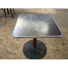 """Столы б/у алюминиевые """"Джаз"""" 700*700*720 мм - на одинарной ноге"""