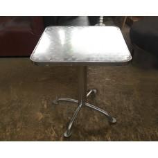 """Столы б/у алюминиевые """"Джаз"""" 700*700*720 мм - на Х-образнойноге"""