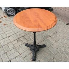 Столы деревянные б/у КХ Круглый - 600*600*720 мм