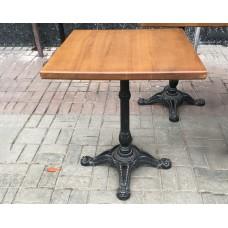 Столы деревянные б/у КХ Квадратный 600*600*720 мм